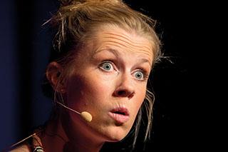 Die Kabarettistin Christine Eixenberger tritt heuer beim Baumburger Kultursommer auf.