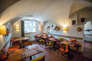 """Blick ins """"Gorilla - Pizza e più"""" in Traunstein."""