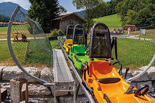 Der Chiemgau-Coaster in Ruhpolding