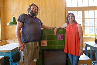 Rudi und Maria Finsterwalder haben die Simsseer-Weidefleisch-Genossenschaft ins Leben gerufen.