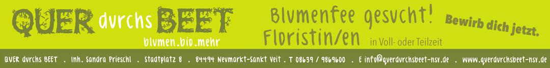 QUERdurchsBEET - blumen.bio.mehr