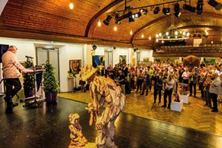 Zum 8. Mal findet heuer in Trostberg die Kunstmeile statt.