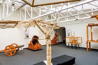 Künstler, Ingenieur, Genie - Leonardo-Ausstellung in Altötting