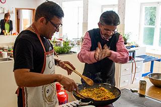 Nicky Sitaram Sabnis - der kochende Klosterhindu von der Fraueninsel