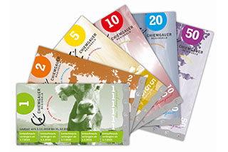 Regionalwährung Chiemgauer