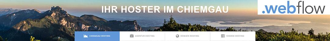 .webflow. Ihr Hoster im Chiemgau.